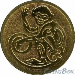 Monkey Badge 2015 SPMD