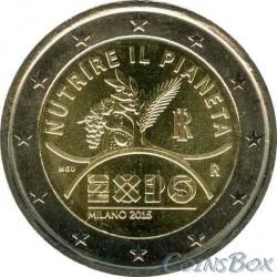 Италия. 2 евро. 2015 год.  EXPO