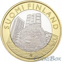 Финляндия 5 евро 2015 Еж
