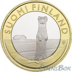 Финляндия 5 евро 2014 Лиса (Varsinais)