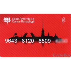 Plantain travel cards. City map. 1 type.