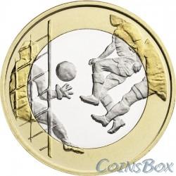 Финляндия 5 евро 2016 Футбол