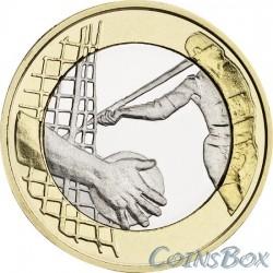 Финляндия 5 евро 2016. Легкая атлетика