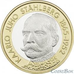 Финляндия 5 евро 2016. Каарло Юхо Стольберг.
