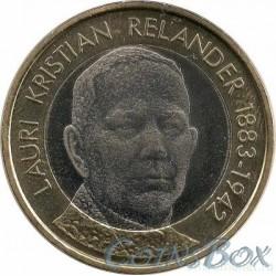 Финляндия 5 евро 2016. Лаури Кристиан Реландер.