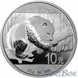 10 Yuan Silver Panda 2016