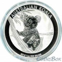 1 Dollar 2015. Koala