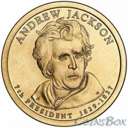 1 Доллар. 7-й президент США. Эндрю Джексон.