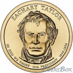 1 Доллар. 12-й президент США. Закари Тейлор. 2009
