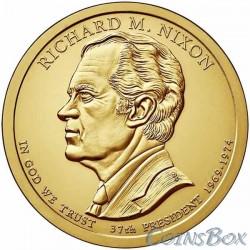 1 dollar. 37th US President. Richard Nixon. 2016