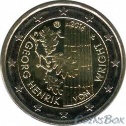 Финляндия. 2 евро. 2016 год. Георг Хенрик
