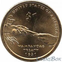 1 Dollar Sacagawea Arrows. 2010