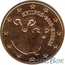 Кипр 2 цента 2016 год