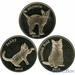 Island of Stroma Cats set of 3 pcs