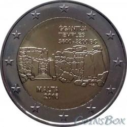 Мальта 2 евро 2016 год Джгантия