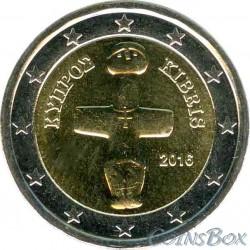 Кипр 2 евро 2016 год