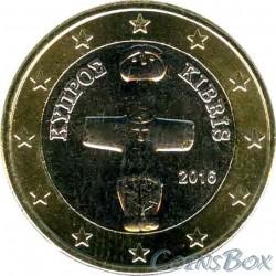 Кипр 1 евро 2016 год