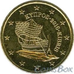 Кипр 10 центов 2016 год