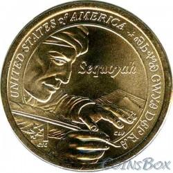 1 Доллар Сакагавея Секвойя 2017
