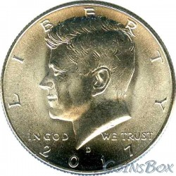 США 50 центов 2017 Кеннеди