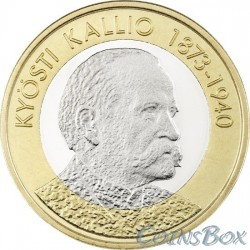 Финляндия 5 евро 2016. Кюёсти Каллио