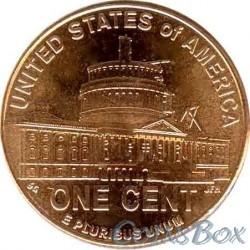 1 цент 2009 Президентство в Вашингтоне