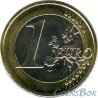 Латвия 1 евро 2014 год