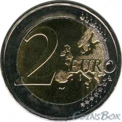 Латвия 2 евро 2014 год
