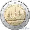 Латвия 2 евро 2014 год Рига - Культурная столица Европы