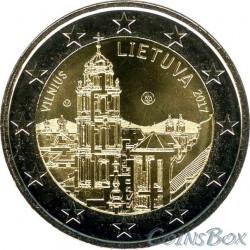 Lithuania 2 euro 2017 Vilnius