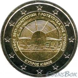 Кипр 2 евро 2017 год. Пафос