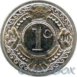 Netherlands Antilles 1 cent 1990