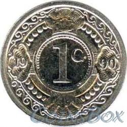 Нидерландские Антиллы 1 цент 1990