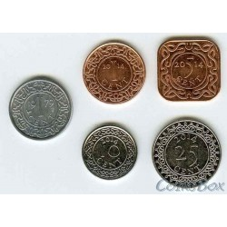 Суринам набор монет 1979, 2014