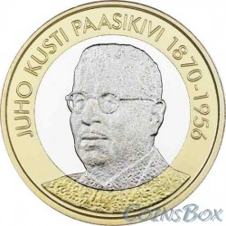Финляндия 5 евро 2017. Юхо Кусти Паасикиви