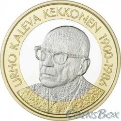 Финляндия 5 евро 2017. Урхо Калева Кекконен