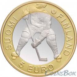 Финляндия 5 евро 2012 Чемпионат мира по хоккею