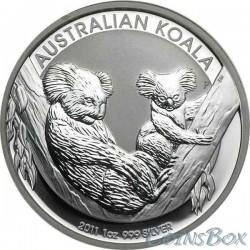 1 Доллар 2011 год Коала