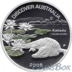 1 Доллар 2008 год Крокодил