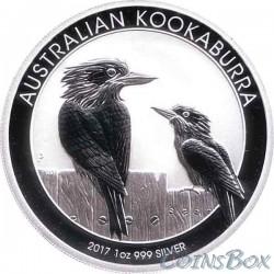 1 Dollar 2017 Kookaburra