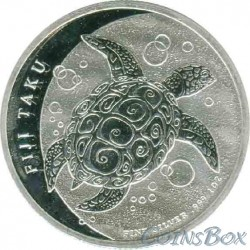 2 Dollar 2012. Turtle Taku