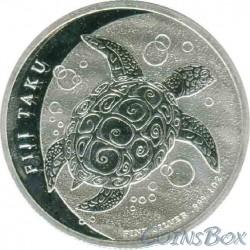 2 Доллара 2012 год. Черепаха Таку