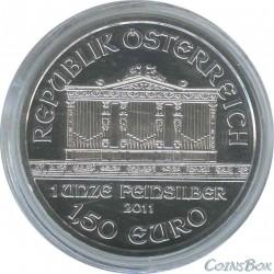 1,5 Евро 2011 год. Австрийская филармония