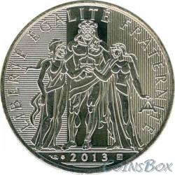 Франция 10 евро 2013 год Геркулес