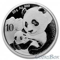 10 Yuan Silver Panda 2019