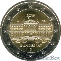 Germany 2 Euro 2019 Bundesrat