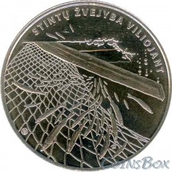 Lithuania 1.5 euro 2019 Smelt