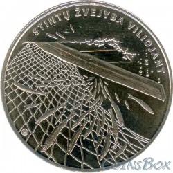 Lithuania 1.5 euro 2019 Smelt