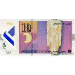 Macedonia 10 denar 2018