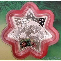 Niue 2 Dollar 2012 Christmas Star